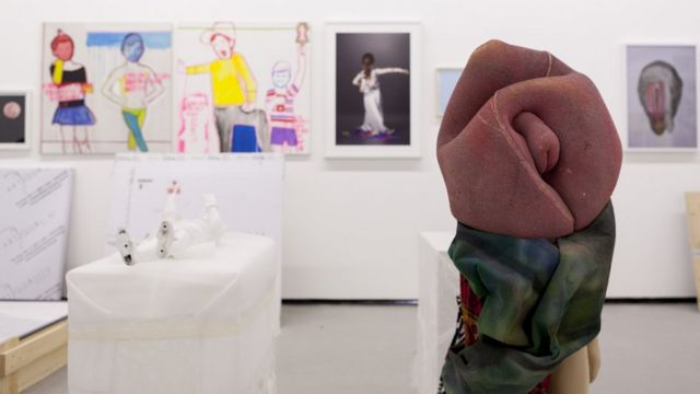 Obras da mostra Queermuseu