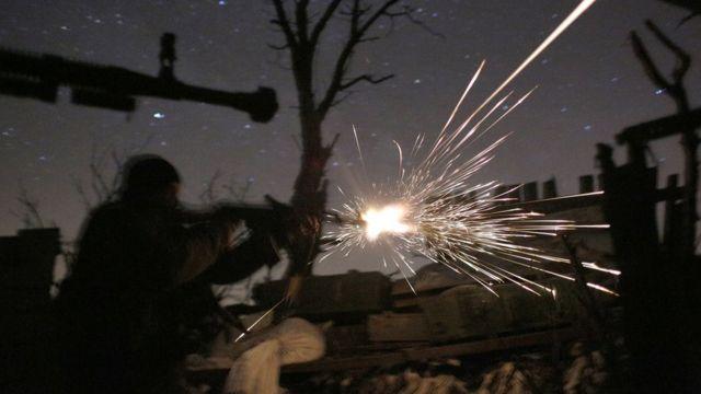 Столкновение в Донбассе
