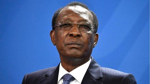 Le président du Tchad, Idriss Déby Itno