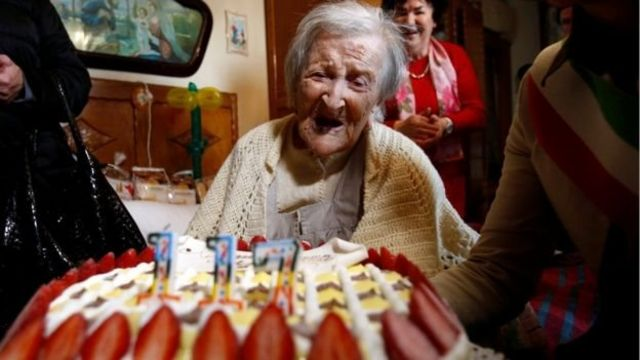 งานฉลองใหญ่ในวันคล้ายวันเกิดครบรอบ 117 ปีของคุณทวดโมราโนเมื่อปีที่แล้ว