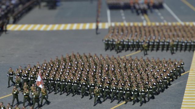vojna parada u Rusiji