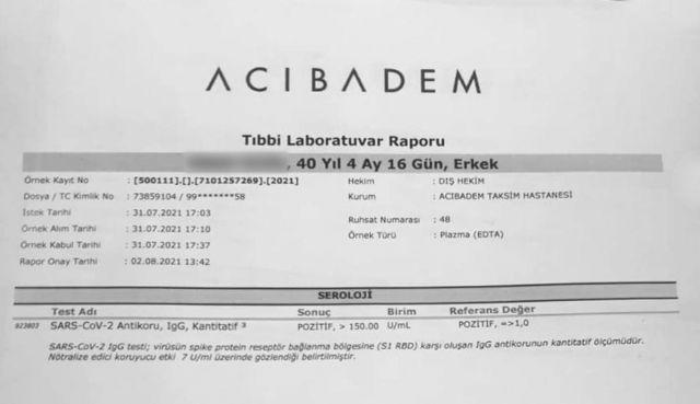 دو نفری که ترکیه واکسن فایزر زدند، بعد از دو هفته آنتیبادی دارند