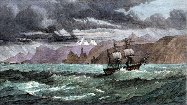 الرحلة البحرية التي غيرت مسار