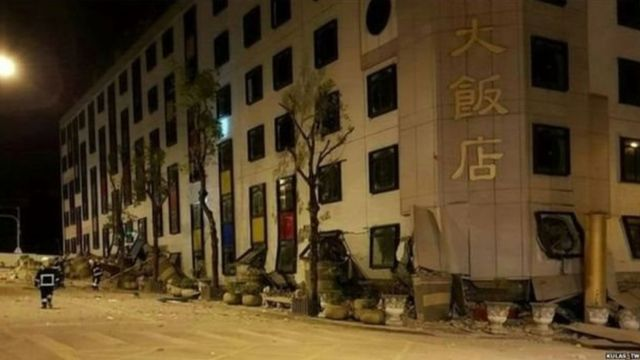 भूकंप, नैसर्गिक आपत्ती, तैवान