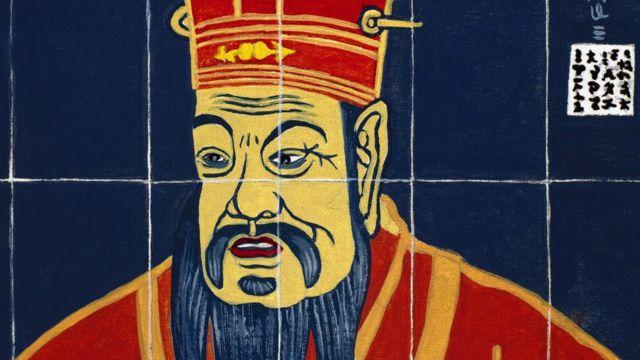 O pensador e filósofo chinês Confúcio