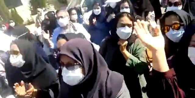 تجمع امروز معلمان در شیراز