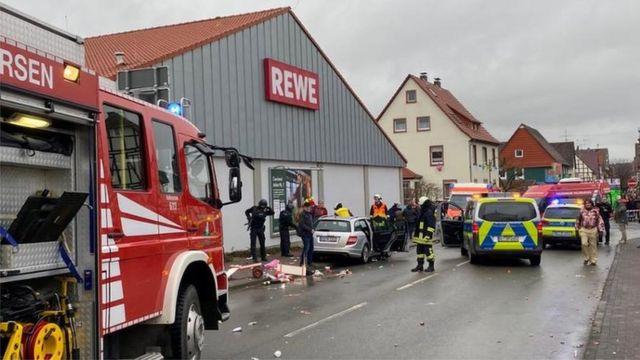 Incidente de carro em Volksmaren