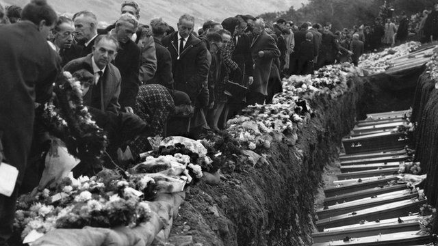 David Evans was the first to call emergency services to the scene of the Aberfan disaster.