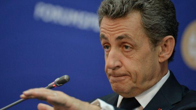 Саркози на Петербургском международном экономическом форуме
