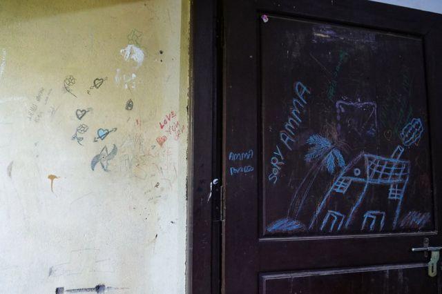 Door of the house