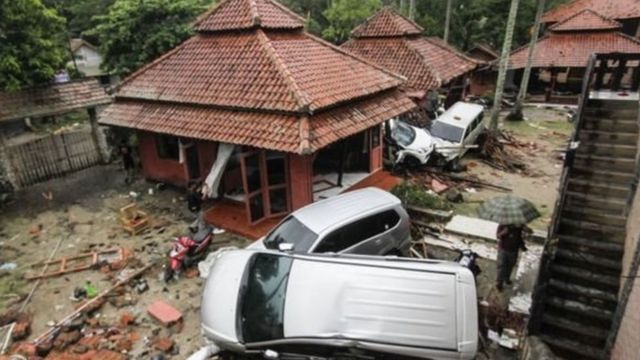 इंडोनेशिया की सुनामी