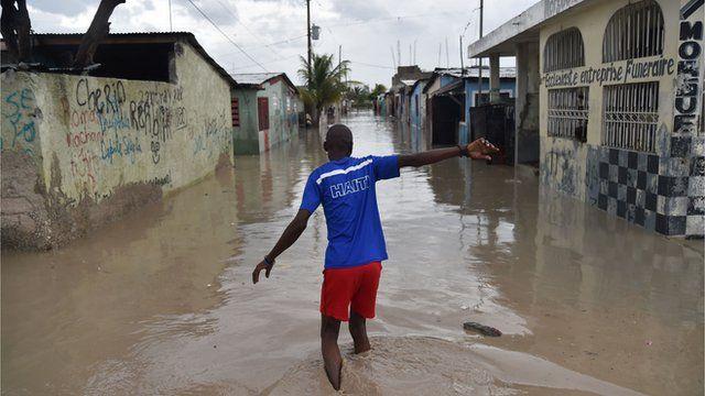 Haiti has been badly hit by Hurricane Matthew
