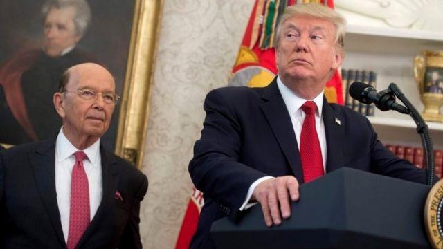 Wilbur Ross Donal Trump-ın siyasi və biznes karyerasında mühüm rol oynayıb