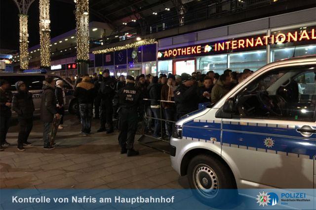 Ifoto ya polisi ya Cologne