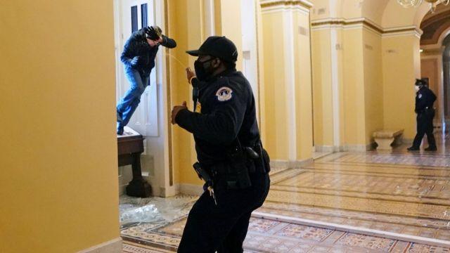 أنصار ترامب يتظاهرون في واشنطون ويقتحمون الكونغرس