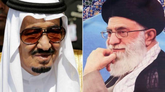सऊदी अरब और ईरान के नेता