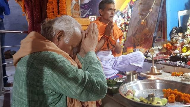 रामरेखा धाम में मोहन भागवत (फाइल फोटो)