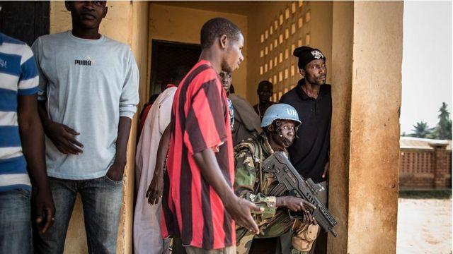 La Mission de l'ONU en Centrafrique a pour mission de protéger les civils.