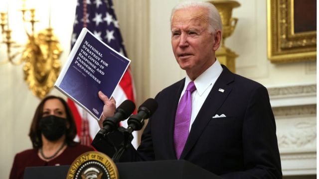President Biden delivered remarks on his administration's COVID-19 response, and signed executive orders and other presidential actions