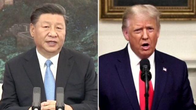 دونالد ترامپ در همین جلسه بعد داستانی را تعریف کرده که چگونه او و شی جین پینگ، رئیس جمهور چین، زمانی یک کیک شکلاتی نوش جان کرده اند
