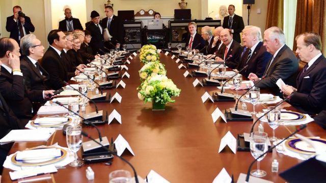 การหารือร่วมระหว่างรัฐมนตรีไทยกับสหรัฐฯ