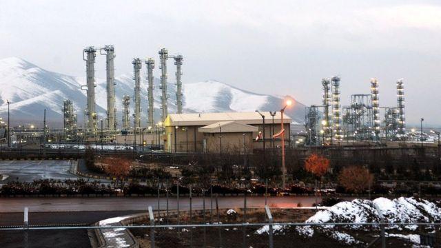 La instalación nuclear de agua pesada en Arak, 2011