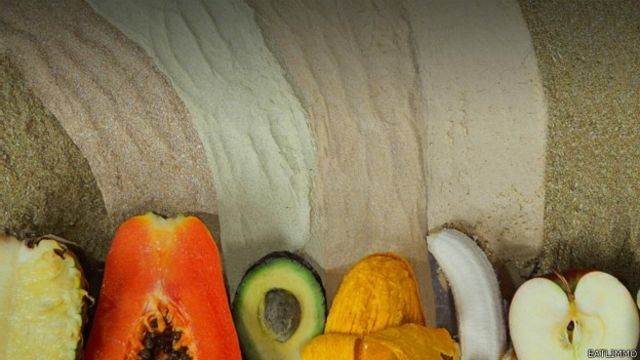 Frutas y polvos