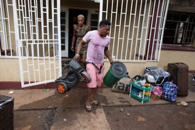 Nyumba ya raia huyu wa Nigeria ilichomwa mwishoni mwa wiki mjini Pretoria