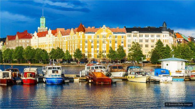 Helsinki şəhəri