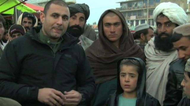 The BBC's Auliya Atrafi reports from Lashkar Gah