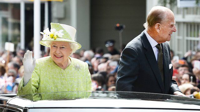 A day of celebrations for the Queens 90th Birthday CBBC Newsround