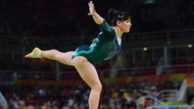 Ginasta Alexa Moreno se apresenta na Rio 2016