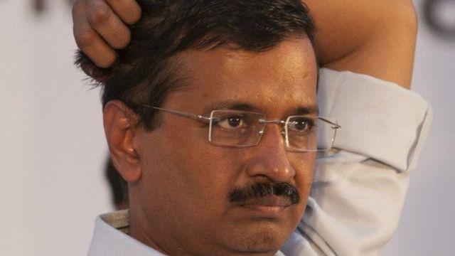 दिल्ली के मुख्यमंत्री अरविंद केजरीवाल.