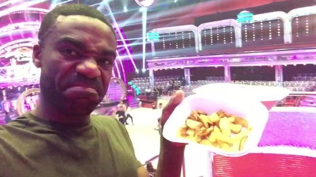Fancy a chip? Nah, it's Strictly Come Dancing final time!