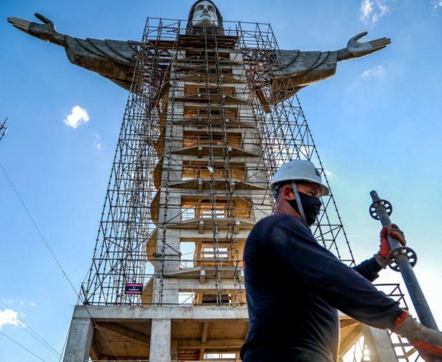 Cristo Protector, Brasil