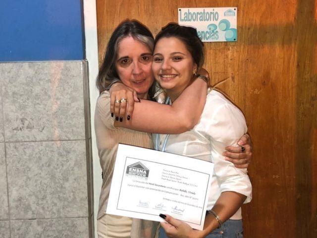 Úrsula y su tía Graciela Nassutti