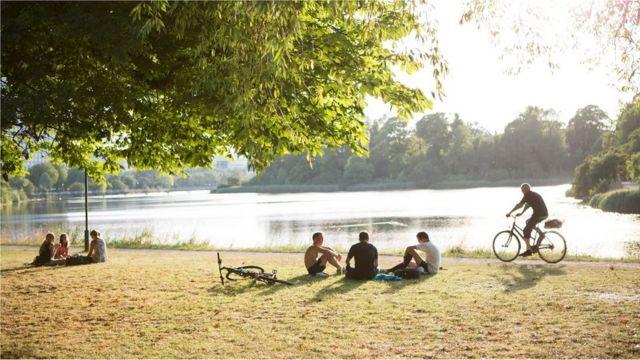 متنزه في كوبنهاغن