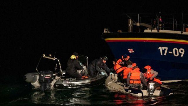 قایق مهاجران