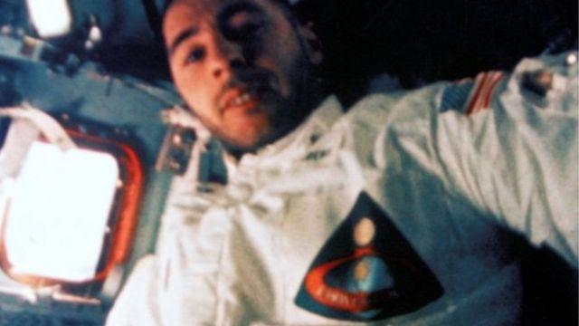 """Білл Андерс на """"Аполлоні-8"""""""