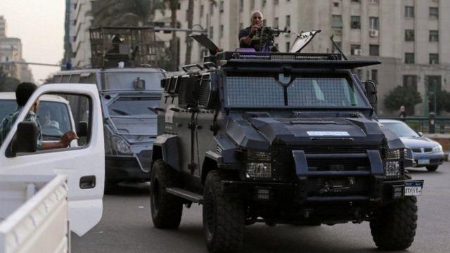 Usalama uliwekwa mjini Cairo kuzuia mandamano ya kupinga hatua za serikali
