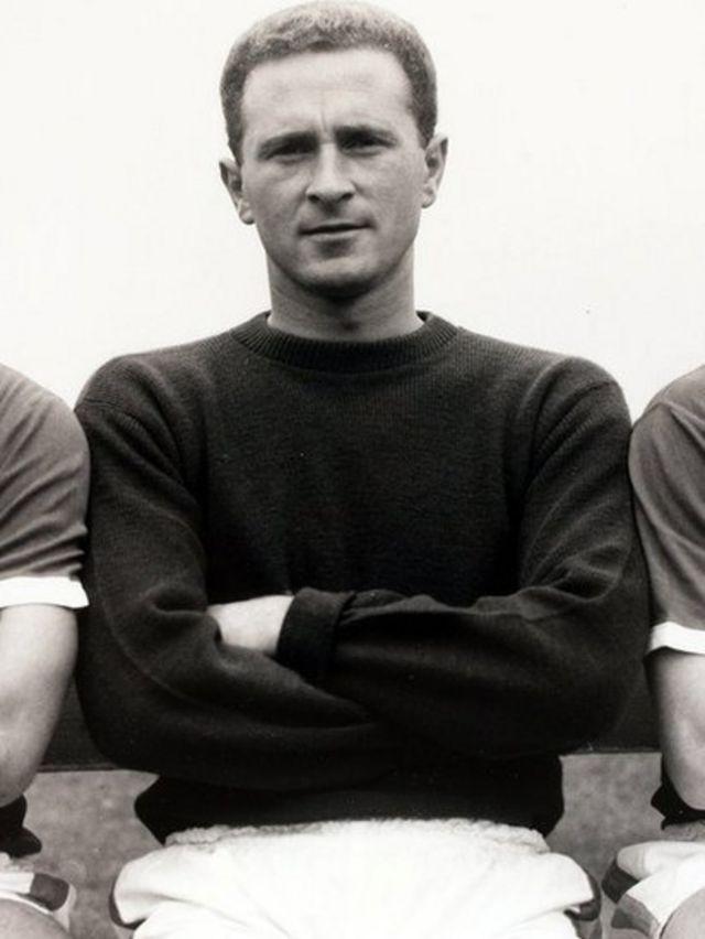 Harry Gregg, le grand gardien nord irlandais de Manchester United.