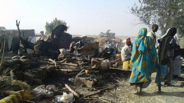 Sansanin Rann, Nigeria, 17 January