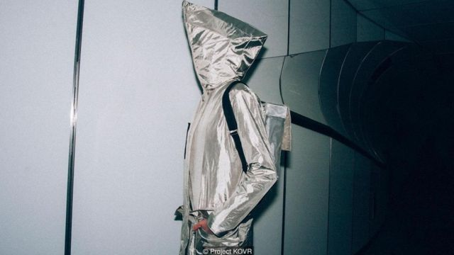 The Anti-Surveillance Coat acts like a sartorial Faraday cage, rendering computer chips in bank and ID cards unreadable