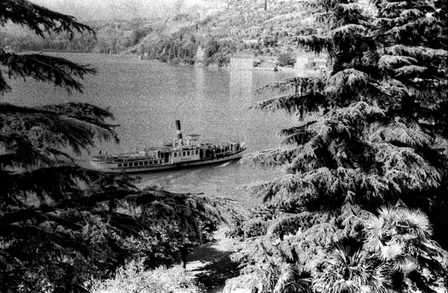 Barco na água