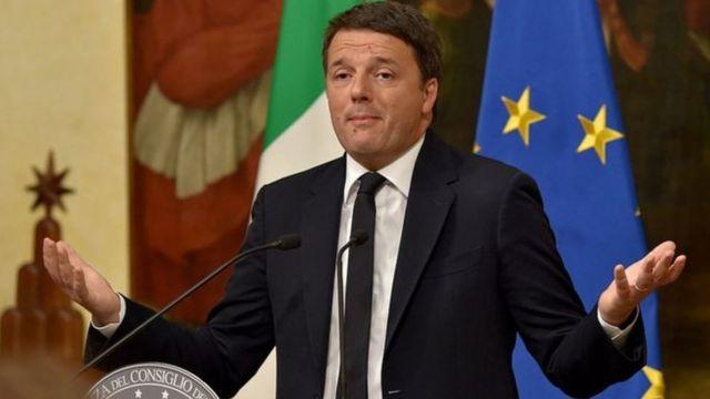 رنزی نخستوزیر ایتالیا