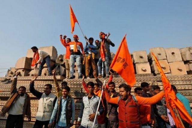 हिंदु संगठनों की धर्म सभा