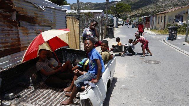 أطفال جنوب أفريقيا