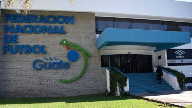 Edificio de la Federación de Fútbol de Guatemala.