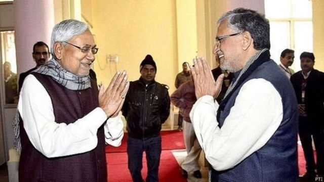 सुशील मोदी और नीतीश कुमार