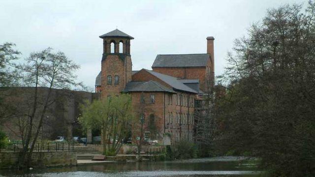 Индустриальный музей в Дерби